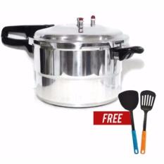 Panci Presto Trisonic Preasure Cooker - 8 L + 1 buah Free Spatula