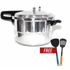 Panci Presto Trisonic Preasure Cooker - 8 L + 2 buah Free Spatula