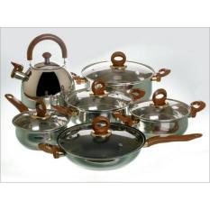 panci vicenza cookware set V 812 (terdapat teko juga )