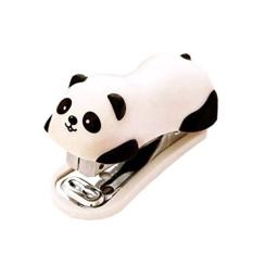 Panda Mini Desktop Stapler Hand Stapler Office Home Stapler - intl
