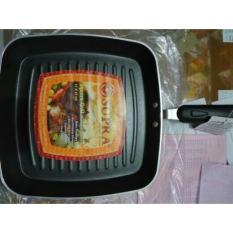 Panggangan Bbq Supra Square Grill Pan 27Cm Teflon - 0Cv5rn