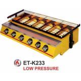 Harga Panggangan Sosis 6 Tungku Getra Et K233 Mesin Panggang Bbq 6 Tungku Kompor Panggang Tanpa Asap Warna Kuning Merk Getra