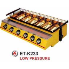 Iklan Panggangan Sosis 6 Tungku Getra Et K233 Mesin Panggang Bbq 6 Tungku Kompor Panggang Tanpa Asap Warna Kuning