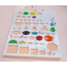 Spesifikasi Paper Quilling Template Board Papercraft Diy Crimper Craft Art 210Mm15Mm8Mm Intl Murah Berkualitas