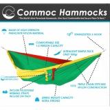 Parachute Hammock Commoc Hammocks Compact L Size Rasta Green Asli