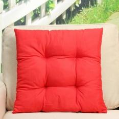 Patio Chair Cushion Set Kursi Dog Cat Pads Garden Outdoor Furniture Lembut Bantal Merah-Intl