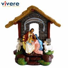Patung Keluarga Kudus Gloria In Excelsis Deo 23 cm