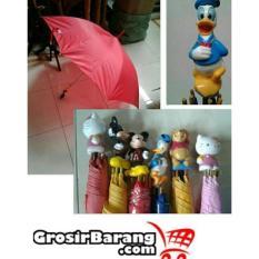 Payung anak hadiah ulang tahun payung handle kartun souvenir payung murah di jogja