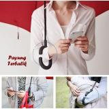 Iklan Payung Kazbrella Payung Terbalik Reverse Gagang C Bentuk Lancip Kotak
