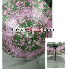 Payung Satin Prewedding Payung Shabby Koleksi Handle J Murah Grosir ISI 3 PCS