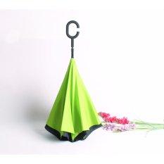Payung Terbalik AITIA Gagang C Reverse Umbrella - Hijau