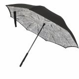 Harga Payung Terbalik Kazbrella Motif White Newspaper 02 Termahal