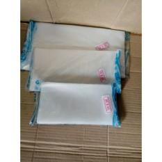 PE uk 10x20, plastik gula 1/4 kg, plastik Bening, kantong Es