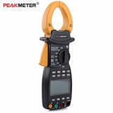 Toko Peakmeter 3 Phase Digital Clamp Meter Power Factor Correction Multimeter For Ac Voltage Current Reactive Power Frequency Tester Ms2203 Intl Lengkap