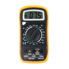 Peakmeter PM830B Mini Portable Digital Multimeter Saat Ini VoltageMultitester Analog Multimeter-Internasional