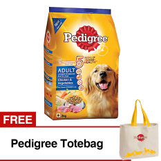 Review Pedigree Chicken Vegetables 3 Kg Free Pedigree Totebag Indonesia