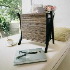 Pelandan | tempat koran majalah buku baju storage lidi kayu dekorasi
