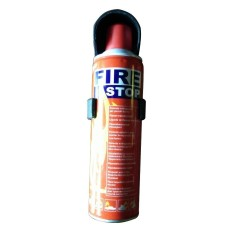 Pemadam Api TOX FIRE STOP Racun Api Portabel 400 ML Fire Extinguisher - Hitam