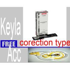 PEN PAPER JOYKO GEL PEN JK-100 0.5 MM BLACK II Free Corectyon tipe