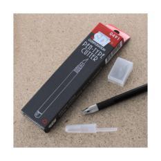 Review Pen Type Cutter Sdi 10 Mata Pisau Oem