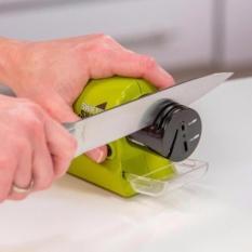 Pengasah Pisau Swifty Sharp - Asahan Pisau Otomatis - Motorized Knife Sharpener By Gogo Shop.