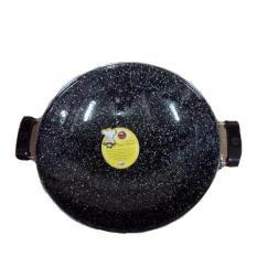 Penggorengan Enamel Marble Royal Wok Maspion 35Cm / Wajan Anti Lengket - Puxxv3