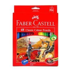 Pensil Warna Faber Castell Classic 48 Warna
