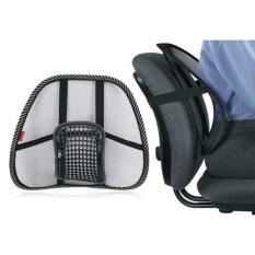 Penyangga Sandaran Punggung Kursi kerja / Bantalan Jok Kursi Mobil Pijat Massage