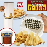 Spek Perfect Fries Natural Cut Alat Potong Kentang Kotak Dadu Kitchen Ware Alat Pemotong Khusus Perangkat Memasak Perlengkapan Dapur El