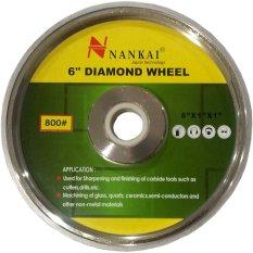 Harga Perkakas Nankai Diamond Grinding Wheel Batu Asah Poles Akik Diamond 6 800 Perkakas Tool Baru