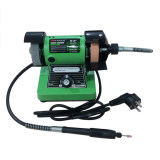 Toko Perkakas Nankai Mini Bench Grinder With Flexible Shaft 3 Mesin Poles Batu Gerinda Duduk Mini Poros Fleksibel Perkakas Tool Lengkap