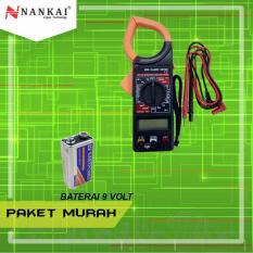 Review Perkakas Nankai Paket Promo Tang Ampere My266 Baterai Kotak 9V Isi Baterai 10Pcs Terbaru