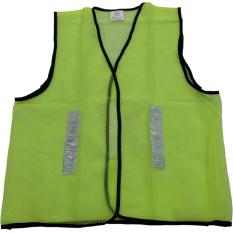 Perkakas Nankai Safety Vest - Baju Rompi Proyek Pengaman Jaring Hijau Perkakas Tool