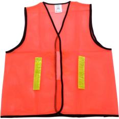 Perkakas Nankai Safety Vest - Baju Rompi Proyek Pengaman Jaring Orange Perkakas Tool