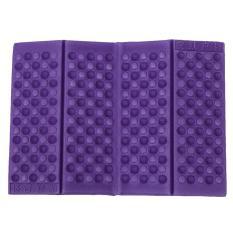 Personalized Folding Foam Waterproof Seat Pad Chair Cushion (Purple)