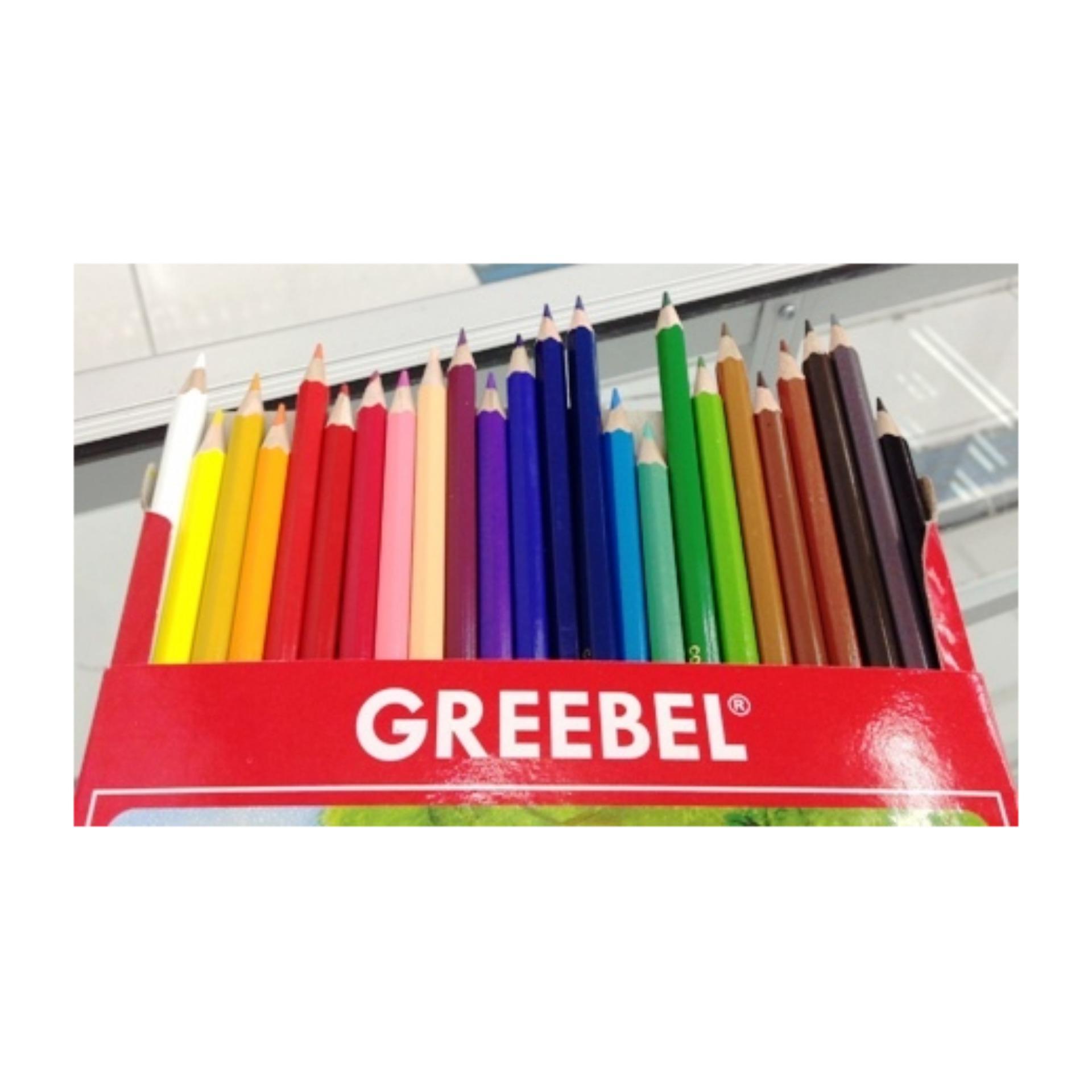 Bandingkan Toko Pesil Warna Greebel 7024 Clasic Panjang 24 Colours sale - Hanya Rp55.874