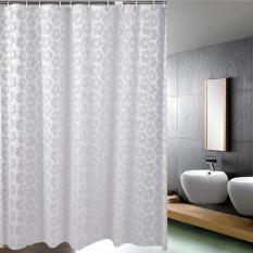 Jual Mimosifolia Peva Shower Curtain Waterproof Anti Jamur Tirai Kamar Mandi Java Me 180X180 Cm Intl Murah Hong Kong Sar Tiongkok
