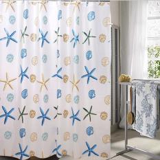 Harga Mimosifolia Peva Shower Curtain Waterproof Anti Jamur Tirai Kamar Mandi Java Me 180X180 Cm Intl Mimosifolia Ori