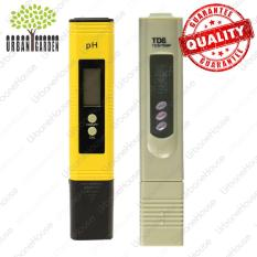 pH Meter & TDS Meter Set High Quality Alat ukur kadar air hidroponik dan air minum