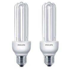 Philips Essential - Lampu Hemat Energi - 23W E27 - 2 Pcs - Putih