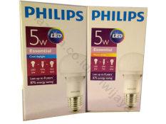 Beli Philips Essential Led Bulb 5W Kuning 4Pcs Online Murah