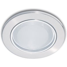 Harga Philips Essential Series Downlight 13801 Glass Recessed Nickel Untuk 1X Lhe 5Watt 2Pcs New
