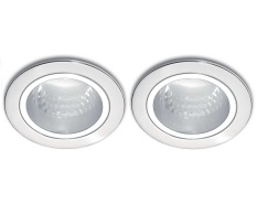 Philips Essential Series Downlight 66661 Nickel Untuk 1X Lhe 5Watt 2Pcs Philips Diskon