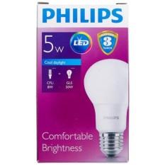 Philips Lampu LED 5 Watt - Putih