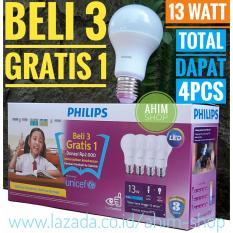 Jual Philips Lampu Led Bulb 13W Unicef Beli 3 Gratis 1 Cool Daylight Putih Online Di Jawa Timur