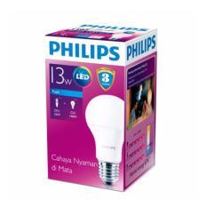 Harga Philips Lampu Ledbulb 13 100W E27 6500K 230V A60 Indo Putih Philips Ori