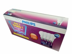 Beli Philips Led Bulb 10 5W Unicef Beli 3 Gratis 1 Putih Indonesia
