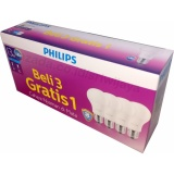 Jual Philips Led Bulb 13W Multipack Isi 4Bh Putih Philips Ori
