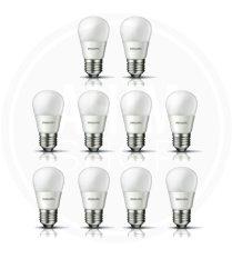 Jual Philips Led Bulb 3W P45 Cool Daylight Putih 10 Pcs Import