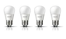 Spesifikasi Philips Led Bulb 3W P45 Putih 4 Buah Lengkap Dengan Harga